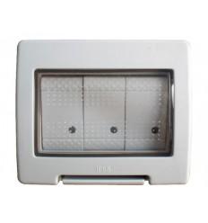 IP55 3 Gang 2 Way 16A Weatherproof Switch