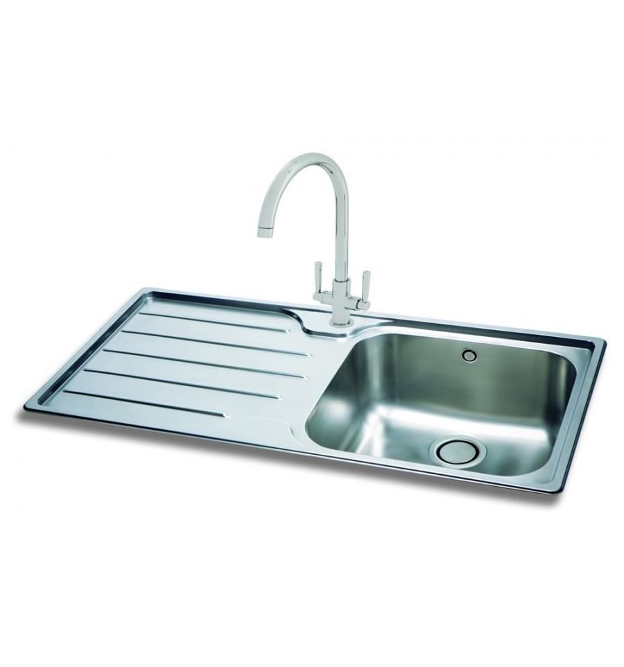 Carron Phoenix Isis 100 Stainless Steel Inset Kitchen Sink