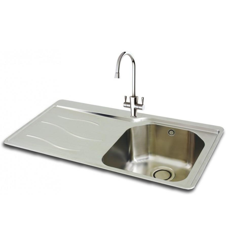 Carron Phoenix Maui 90 Stainless Steel Inset Kitchen Sink