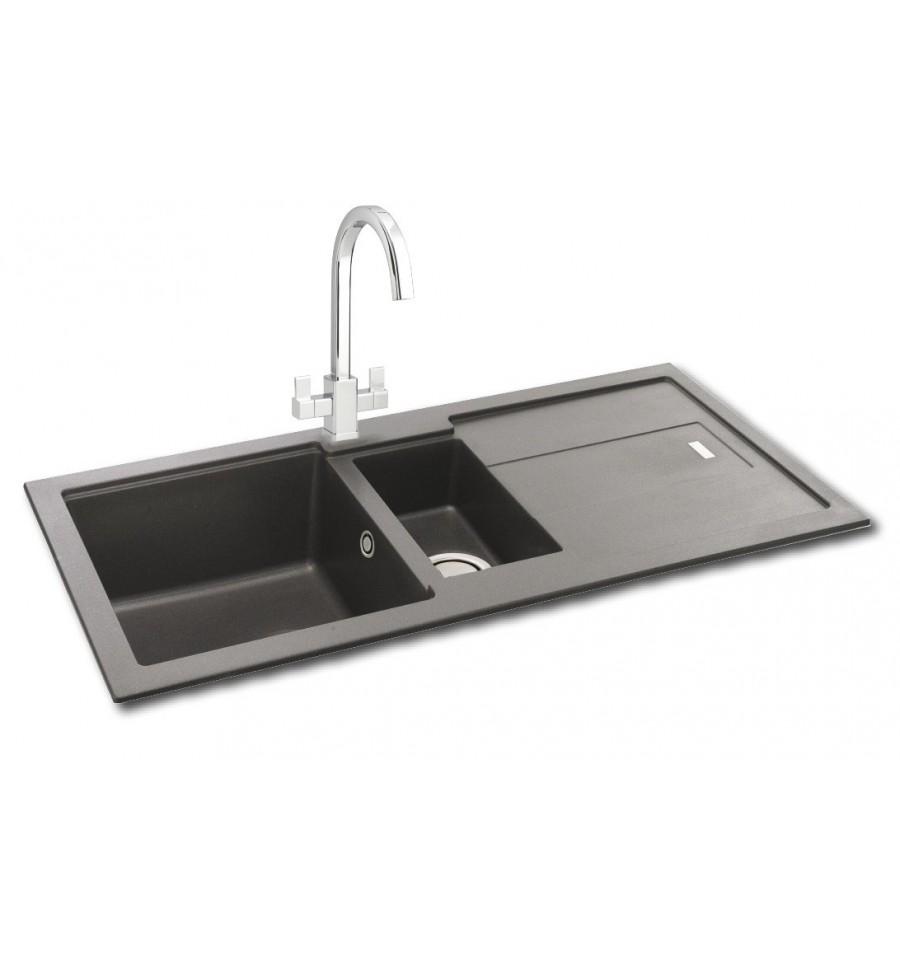 Carron Phoenix Bali 150 Granite Inset Kitchen Sink