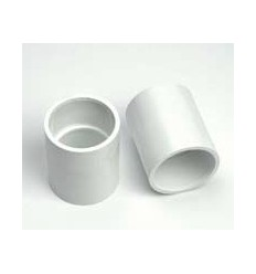 White Waste Coupler 1 1/4""