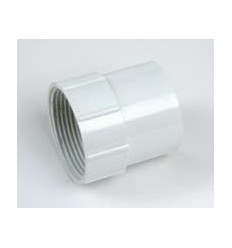 White Waste Female Adapter 1 1/2""