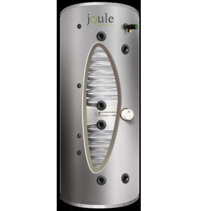 """Joule 300L 2-Coil 1"""" CO Stainless Steel Cylinder"""