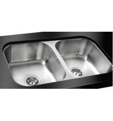 Sapphire Classic Double Bowl Undermount Kitchen Sink
