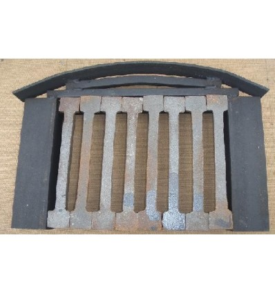 Round Fireplace Grate