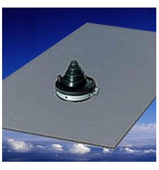 Solar Slate Lead Base Pipe Flashings (X 2)
