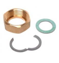 "Solar 3/4"" Backnut Circlip & Fibre Washer DN16"