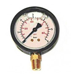 240 PSI Oil Filled Pressure Gauge