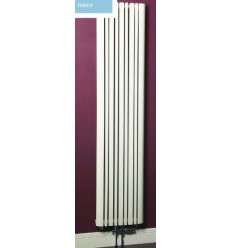 Phoenix Tower Designer Radiator White 1800mm X 423mm