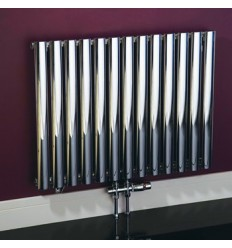 Phoenix Louise Designer Radiator Chrome 1800mm X 420mm