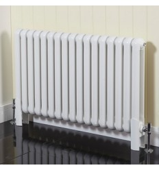 Phoenix Lilly Designer Radiator White 600mm X 556mm