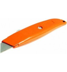 Silverline Hi-Vis Retractable Knife 145mm