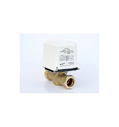 Sunvic 22mm Normally Open 2-Port Motorised Valve & Actuator