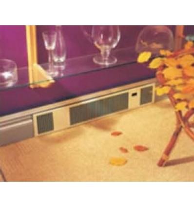 Solo Discreet 3 Fan Kickboard Heater Hideaway Chrome