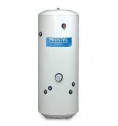 ProStel Twin-Coil Stainless Steel Cylinder Indirect 210L