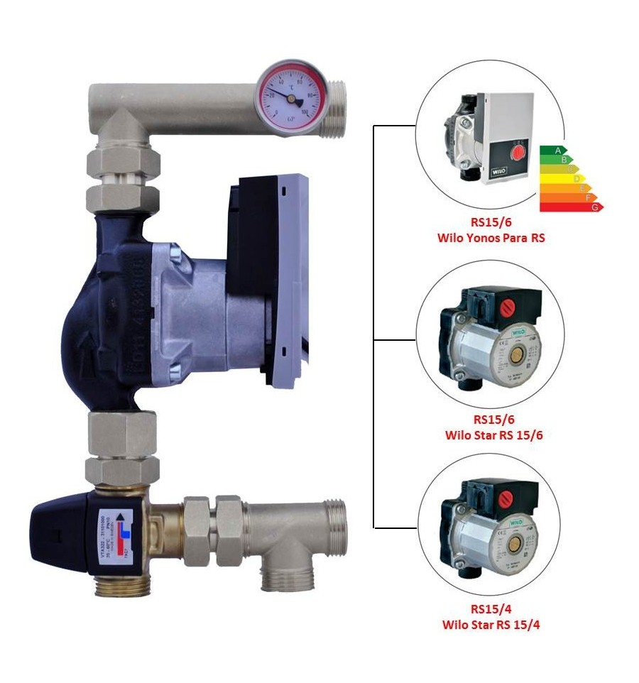 Underfloor Mixing Valves Ireland Plumbing Products Wilo Pump Wiring Diagram Capricorn Kit With A Rated