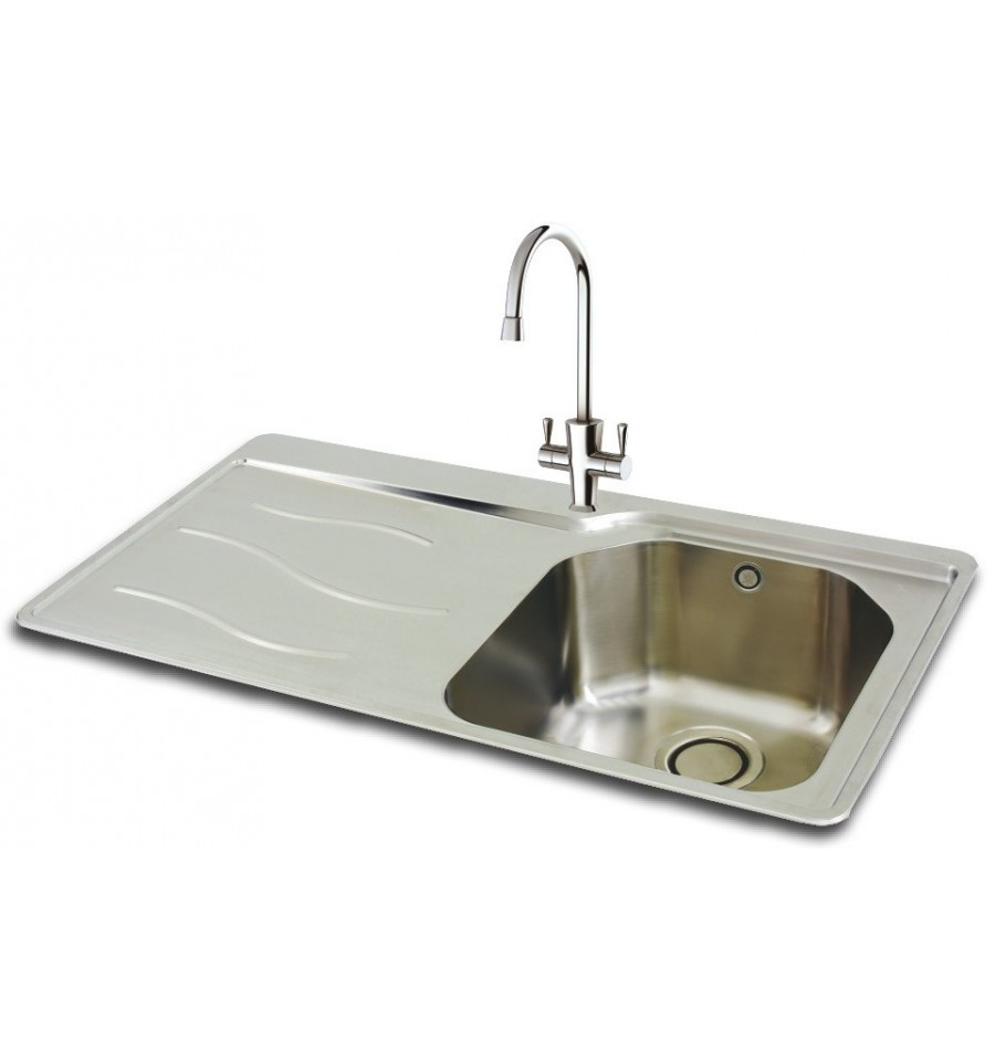 kitchen sink phoenix carron 90 stainless steel inset kitchen sink 2816