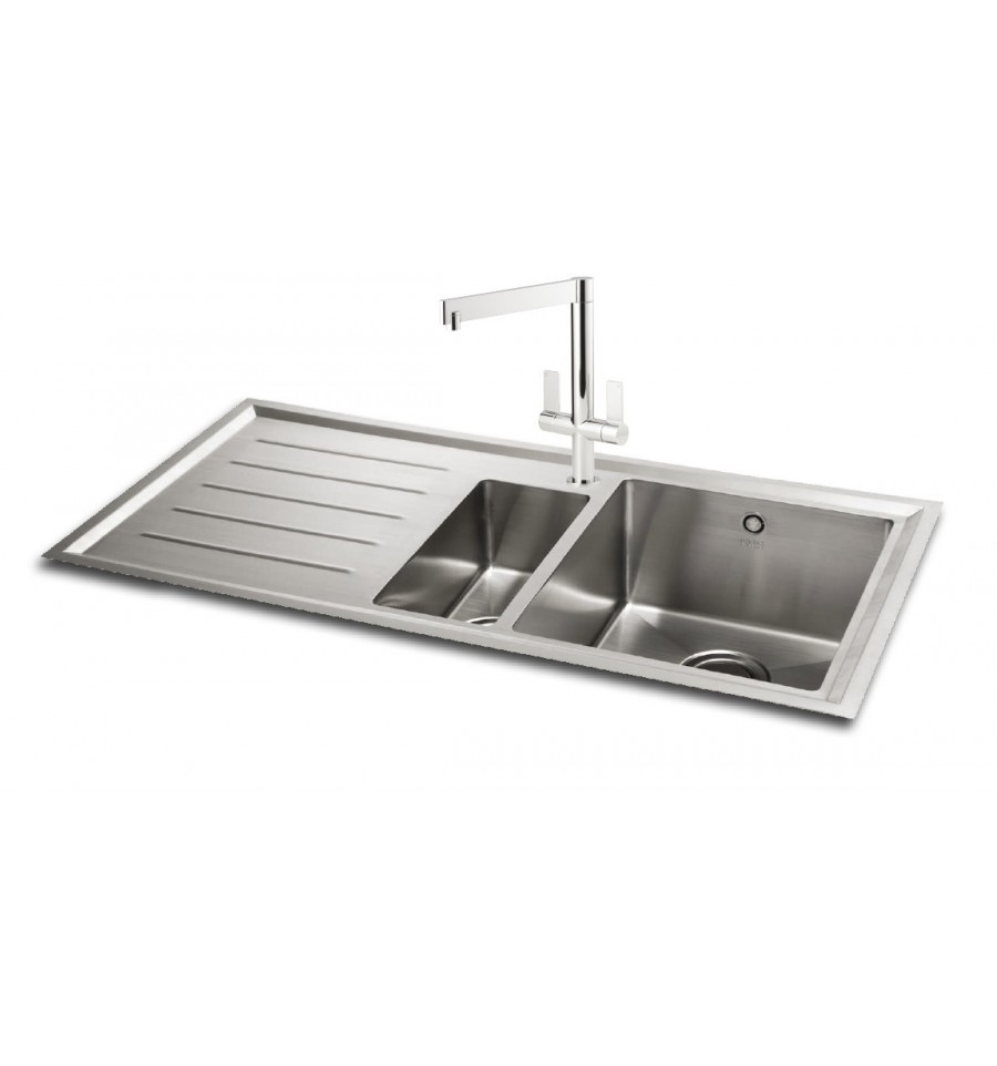 kitchen sink phoenix carron vela 150 stainless steel kitchen sink 2816