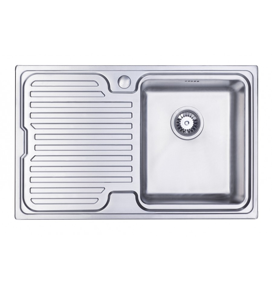 single bowl kitchen sink with drainer sapphire compact single bowl amp drainer inset kitchen sink 9306