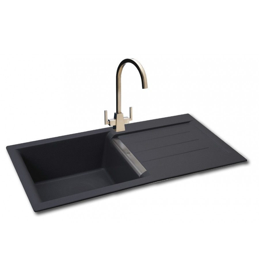 kitchen sink phoenix carron java 100 granite inset kitchen sink 2816