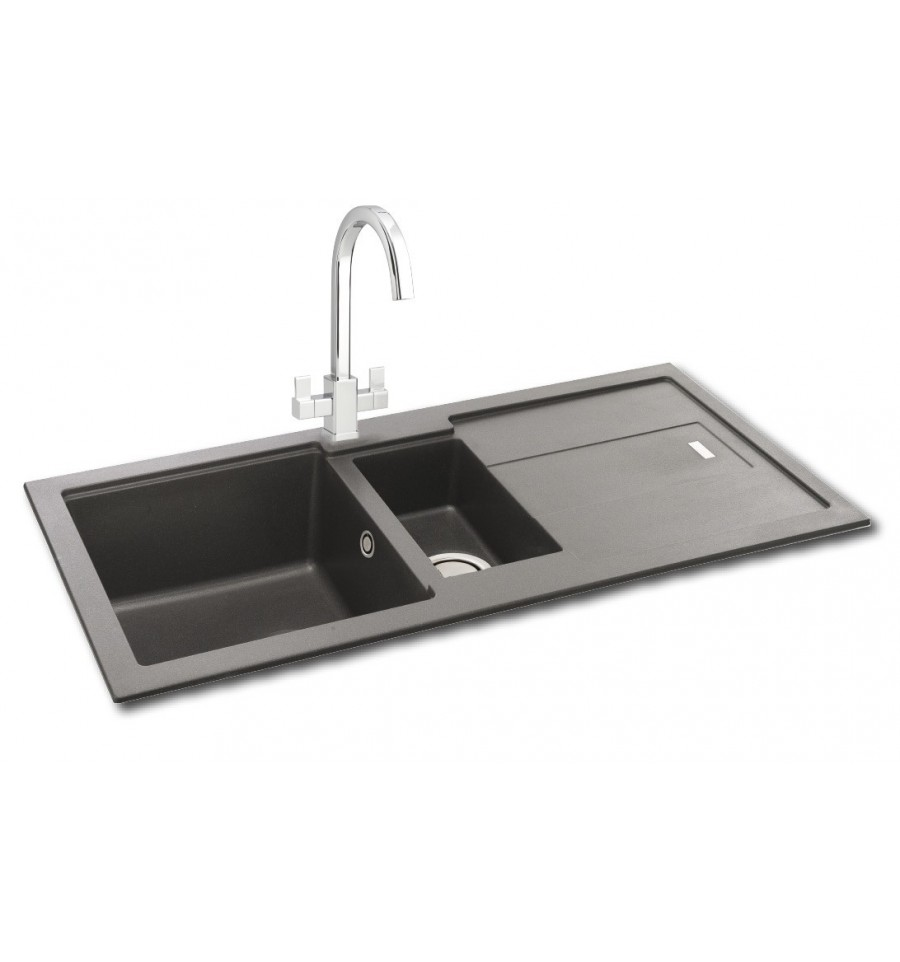 kitchen sink phoenix carron bali 150 granite inset kitchen sink 2816
