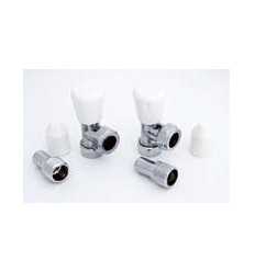 Radiator Valves Copper 15mm Pair