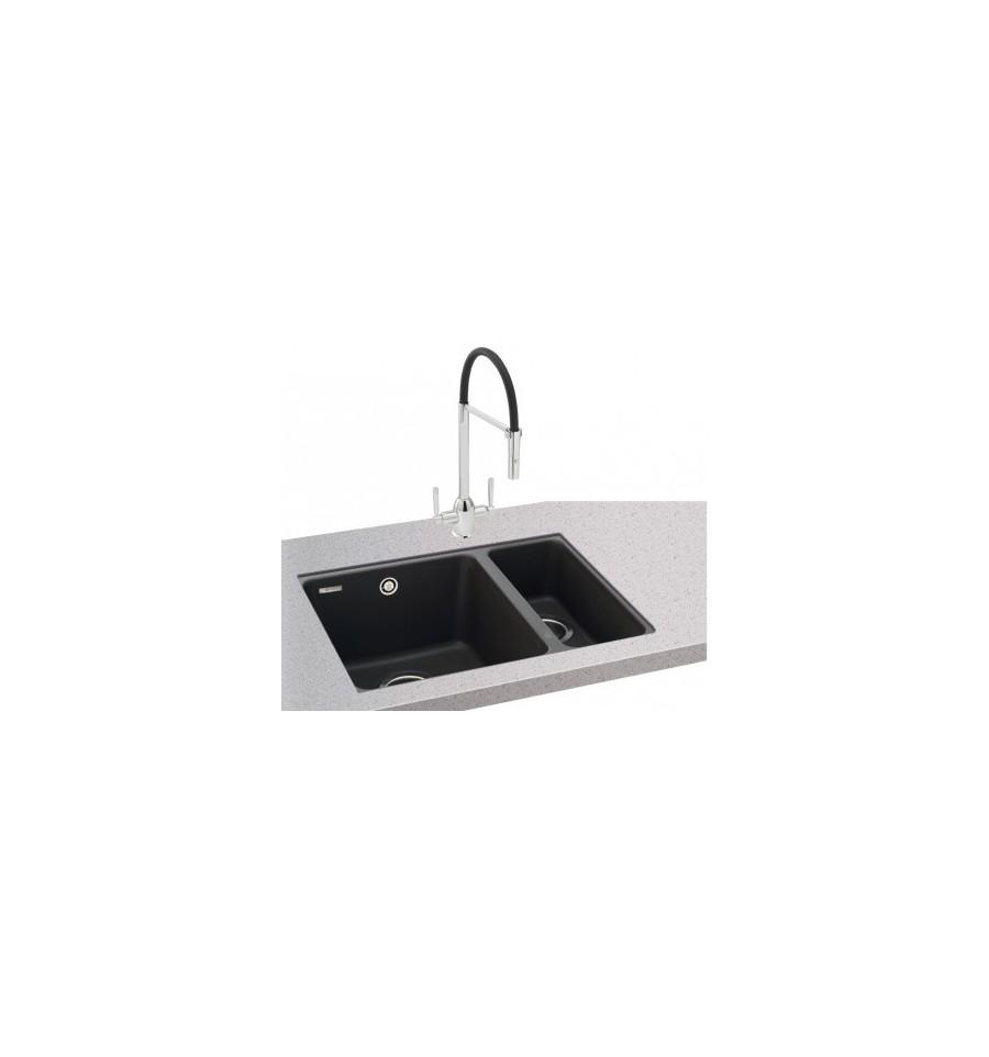 Carron phoenix fiji 150 16 granite undermount kitchen sink - Undermount granite kitchen sinks ...