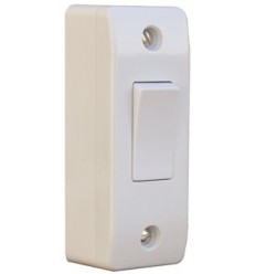 Electrical 1 Gang Architrave Switch With Box