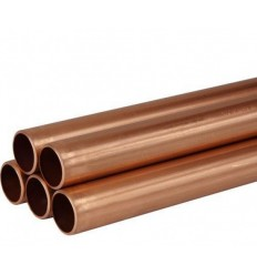 "Copper Pipe 1/2"" X 1.5m Length"