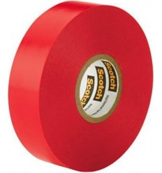 Electrical 20m Insulating Tape Red