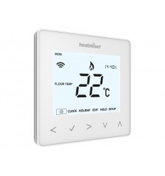 Heatmiser neoAir Smart Thermostat - Glacier White.