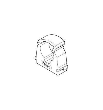 Talon Pipe Clip 28mm (50pce)