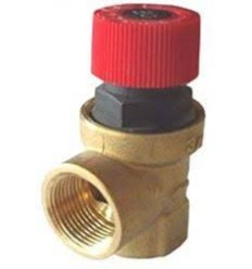 "Safety Valve 1/2"" 6 BAR No.1"