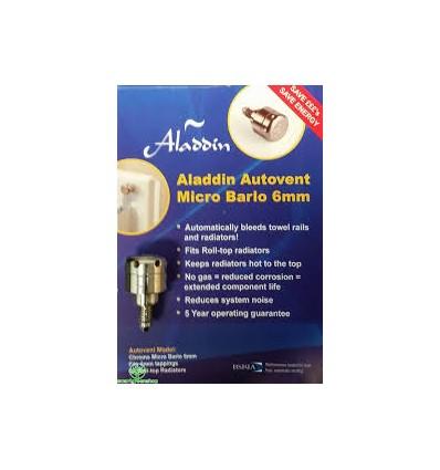 Aladdin Automatic Rad Air Vent 6MM