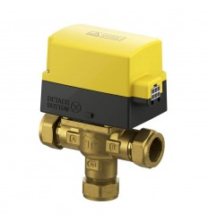 Sauter Detachable 3 Port Motorised Valve 28mm