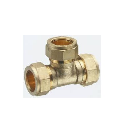 Compression Tee Coupling 618 Metric 28mm