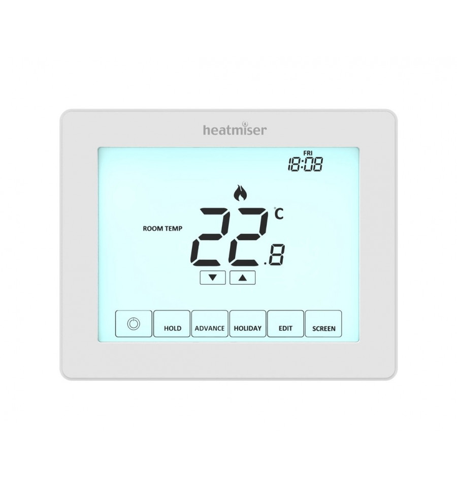 Heatmiser Touch Is Our 230v Touchscreen  Programmable Room