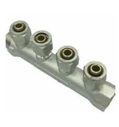"Manifold 2-Port 3/4"" X 16mm"""