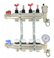 "Underfloor Heating Manifold 1"" 10 Port"