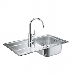 Grohe K400 Sink & Concetto Tap bundle