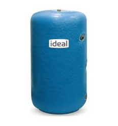 """Ideal Stainless Steel Cylinder 42"""" X 18"""" 3/4x1 Coil Insulated  C/W IMMERSION"""