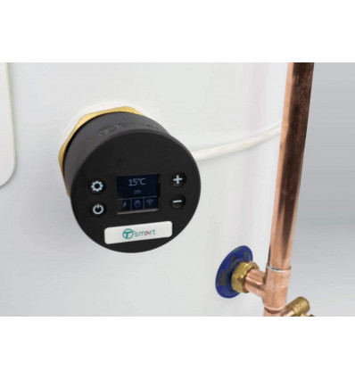 T-Smart Tesla Hot Water Cylinder Thermostat - Upgrade Your Cylinder to a Genuine Smart Appliance TIHTS