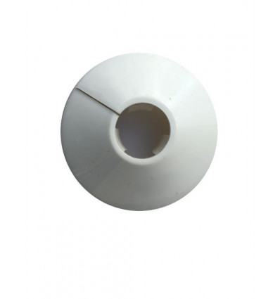 Multilayer Split 16mm White Pipe Cover (single)