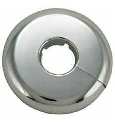 Multilayer Split 15mm Chrome Pipe Cover (single)