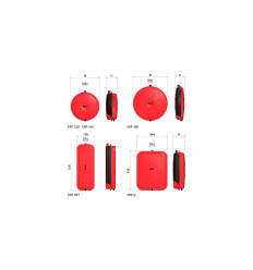 Flat Expansion Vessel Heating Red 10 Litre ERP-Q10