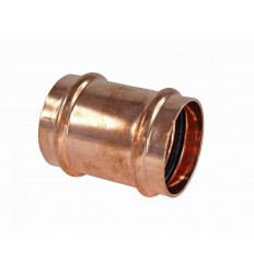 """Copper Press Fittings Coupling Straight 1/2"""""""