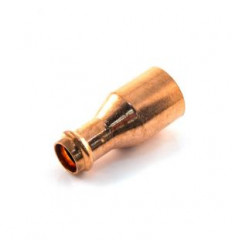 """Copper Press Fittings Coupling Reducer 1"""" x 3/4"""""""